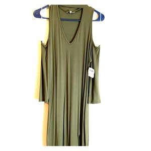 Olive Nightclub Dress